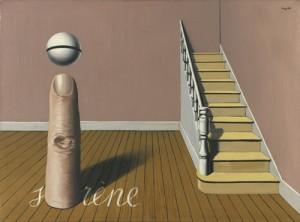 La lecture défendue, René Magritte, 1936, huile sur toile, 54,4 x 73,4, Musées royaux des Beaux-Arts de Belgique Site : http://www.fine-arts-museum.be/fr/la-collection/rene-magritte-la-lecture-defendue?artist=magritte-rene-1